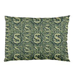Money Symbol Ornament Pillow Case (Two Sides)