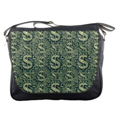 Money Symbol Ornament Messenger Bags