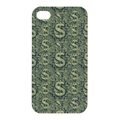 Money Symbol Ornament Apple Iphone 4/4s Premium Hardshell Case