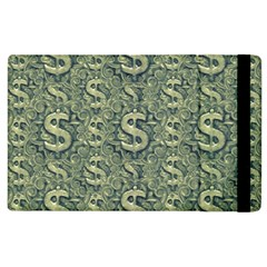 Money Symbol Ornament Apple iPad 3/4 Flip Case