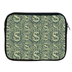 Money Symbol Ornament Apple iPad 2/3/4 Zipper Cases
