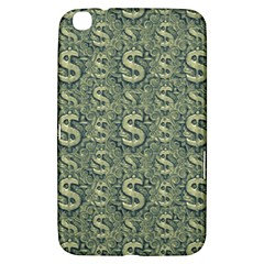 Money Symbol Ornament Samsung Galaxy Tab 3 (8 ) T3100 Hardshell Case
