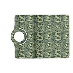 Money Symbol Ornament Kindle Fire HD (2013) Flip 360 Case