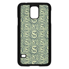 Money Symbol Ornament Samsung Galaxy S5 Case (black)