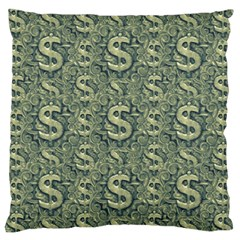 Money Symbol Ornament Standard Flano Cushion Case (One Side)