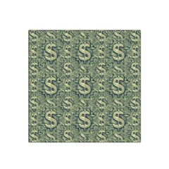 Money Symbol Ornament Satin Bandana Scarf