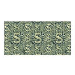 Money Symbol Ornament Satin Wrap
