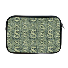 Money Symbol Ornament Apple Macbook Pro 17  Zipper Case
