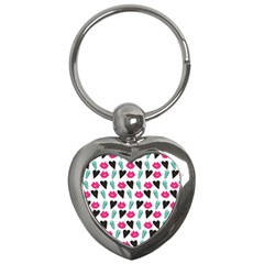 Vday2 Pattern 2 Key Chains (Heart)
