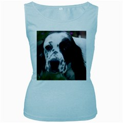 English Setter Women s Baby Blue Tank Top