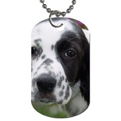 English Setter Dog Tag (Two Sides)