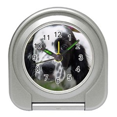 English Setter Travel Alarm Clocks