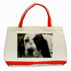 English Setter Classic Tote Bag (Red)
