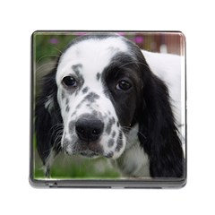 English Setter Memory Card Reader (Square)