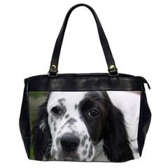 English Setter Office Handbags (2 Sides)