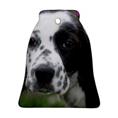English Setter Bell Ornament (Two Sides)