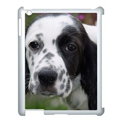 English Setter Apple iPad 3/4 Case (White)
