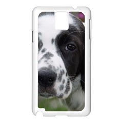 English Setter Samsung Galaxy Note 3 N9005 Case (White)
