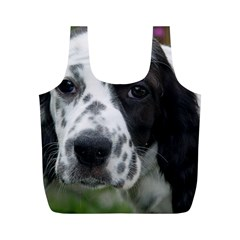 English Setter Full Print Recycle Bags (M)