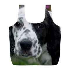 English Setter Full Print Recycle Bags (L)