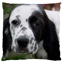 English Setter Standard Flano Cushion Case (One Side)