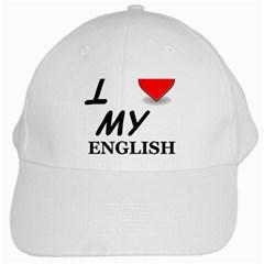 Eng Setter Love White Cap