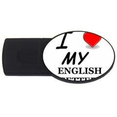 Eng Setter Love USB Flash Drive Oval (4 GB)