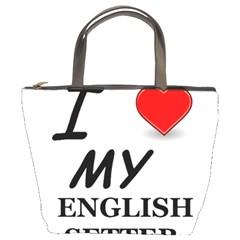 Eng Setter Love Bucket Bags