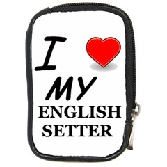 Eng Setter Love Compact Camera Cases