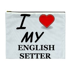 Eng Setter Love Cosmetic Bag (XL)