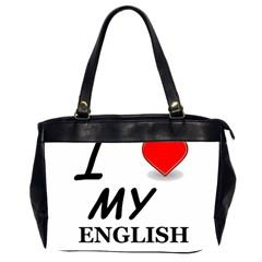 Eng Setter Love Office Handbags (2 Sides)