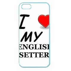 Eng Setter Love Apple Seamless iPhone 5 Case (Color)