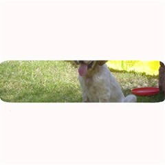 English Setter Orange Belton Puppy Large Bar Mats