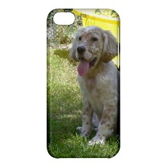 English Setter Orange Belton Puppy Apple iPhone 5C Hardshell Case