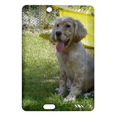 English Setter Orange Belton Puppy Amazon Kindle Fire HD (2013) Hardshell Case