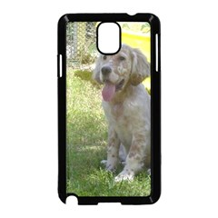 English Setter Orange Belton Puppy Samsung Galaxy Note 3 Neo Hardshell Case (Black)