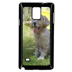 English Setter Orange Belton Puppy Samsung Galaxy Note 4 Case (Black)