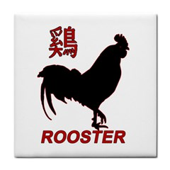Year of the Rooster - Chinese New Year Tile Coasters