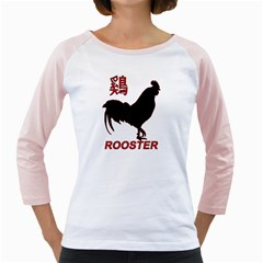 Year of the Rooster - Chinese New Year Girly Raglans