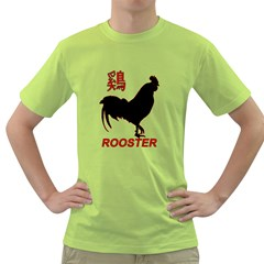 Year of the Rooster - Chinese New Year Green T-Shirt
