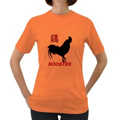 Year of the Rooster - Chinese New Year Women s Dark T-Shirt