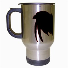 Year of the Rooster - Chinese New Year Travel Mug (Silver Gray)
