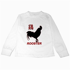 Year of the Rooster - Chinese New Year Kids Long Sleeve T-Shirts