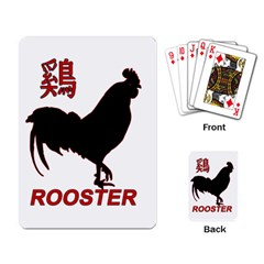 Year of the Rooster - Chinese New Year Playing Card