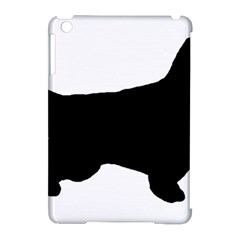 English Setter Silo Black Apple iPad Mini Hardshell Case (Compatible with Smart Cover)