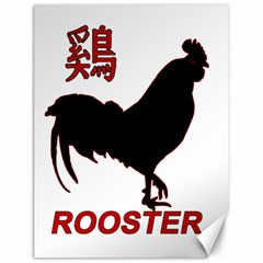 Year of the Rooster - Chinese New Year Canvas 12  x 16