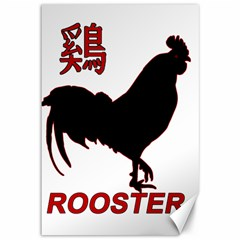Year of the Rooster - Chinese New Year Canvas 12  x 18