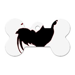 Year of the Rooster - Chinese New Year Dog Tag Bone (One Side)