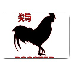 Year of the Rooster - Chinese New Year Large Doormat