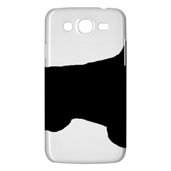 English Setter Silo Black Samsung Galaxy Mega 5.8 I9152 Hardshell Case